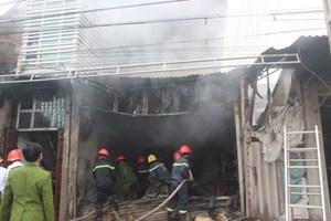 Gia Lai: Cửa hàng bách hóa bị thiêu rụi, thiệt hại hàng trăm triệu đồng