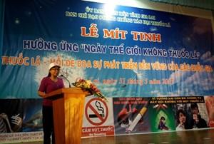 Gia Lai thực hiện nghiêm luật Phòng, chống tác hại thuốc lá