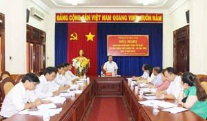 Gia Lai:Giao ban Khối Mặt trận và các đoàn thể chính trị - xã hội