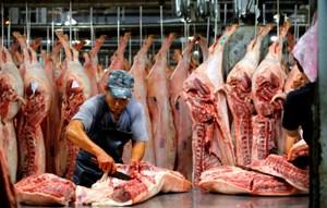 Giá thịt lợn tăng cao
