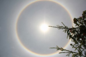 'Giải mã' hiện tượng về quầng sáng lạ xuất hiện tại miền Trung