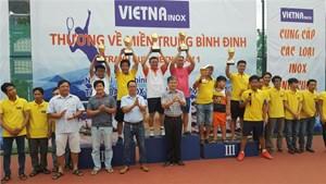 Giải tennis từ thiện hỗ trợ đồng bào bị thiên tai
