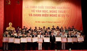 Giải thưởng Hồ Chí Minh, Giải thưởng Nhà nước về VHNT 2016: Hơn 100 hồ sơ đủ điều kiện