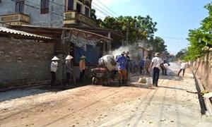 Giám sát đầu tư cộng đồng tại Bắc Giang: Giảm lãng phí, vững công trình
