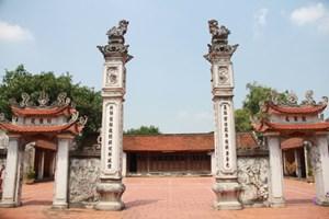 Giám sát việc tu bổ, tôn tạo các di tích lịch sử, văn hóa