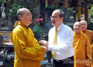 Giáo hội Phật giáo VN làm chỗ dựa tin cậy cho tăng ni, phật tử