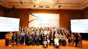 Giới chức ASEAN, EU thảo luận về bình đẳng giới và trao quyền cho phụ nữ và trẻ em gái