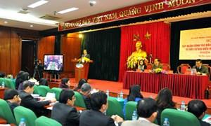 Hiệp thương, giới thiệu những người đại diện cho khối đại đoàn kết toàn dân tộc