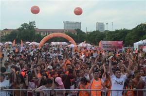 Giới trẻ Thành Nam hào hứng với sự kiện Vietnamobile công bố phủ sóng 3G