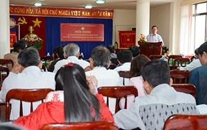 Góp ý các tiêu chí Cuộc vận động 'Toàn dân đoàn kết xây dựng nông thôn mới, đô thị văn minh'
