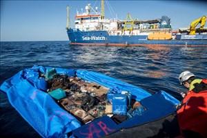 Hà Lan: Từ chối tiếp nhận người di cư trên tàu cứu hộ