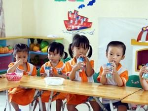 Hà Nội: 4.000 tỷ đồng thực hiện Chương trình Sữa học đường