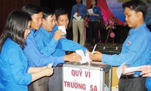 """Hà Nội: Gần 5,4 tỷ đồng ủng hộ quỹ """"Vì Trường Sa thân yêu"""""""