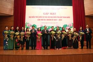 Hà Nội gặp mặt nữ đại biểu dự Đại hội Phụ nữ toàn quốc lần thứ XII
