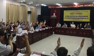 Hà Nội giới thiệu 38 người ứng cử ĐBQH khoá XIV