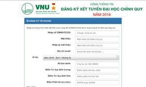 Hà Nội hướng dẫn cách đăng ký tuyển sinh trực tuyến đầu cấp