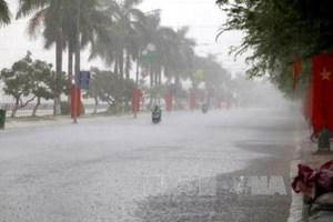 Hà Nội mưa to, đề phòng dông lốc