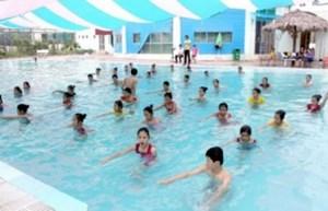 Hà Nội: Phổ cập bơi miễn phí cho trẻ em