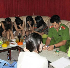 Hà Nội: Tệ nạn mại dâm có dấu hiệu hoạt động phức tạp