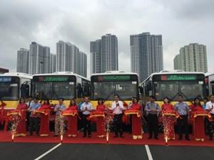 Hà Nội: Thêm 2 tuyến buýt kết nối nội đô-ngoại thành