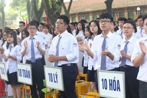 Hà Nội tuyển mới 67.235 học sinh lớp 10 trường công lập và công lập tự chủ