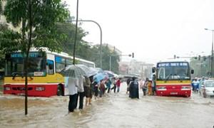 Hà Nội vẫn ngập nặng nếu mưa to