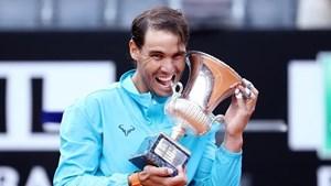 Hạ Novak Djokovic, Nadal lần thứ 9 lên ngôi tại Rome Masters