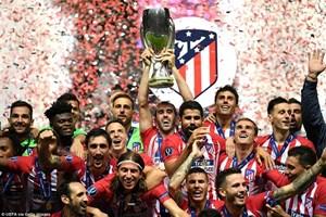 Hạ Real Madrid sau 120 phút, Atletico lần thứ 3 lên đỉnh châu Âu