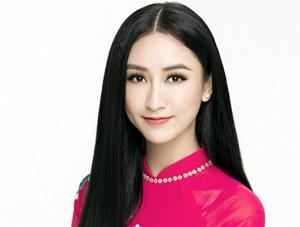 Hà Thu đại diện Việt Nam tham dự Hoa hậu Trái đất