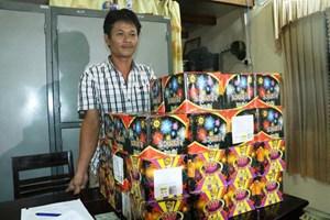 Hà Tĩnh: Bắt đối tượng buôn bán gần 80 kg pháo trái phép
