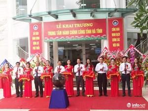 Hà Tĩnh: Khai trương Trung tâm hành chính công