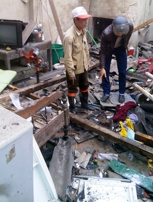 Hà Tĩnh: Nghi nổ pháo, 5 người thương vong