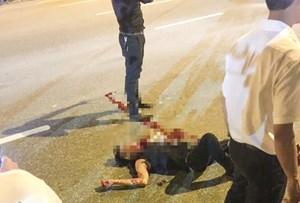 Hai đối tượng chém gục nam thanh niên giữa phố Hà Nội bị bắt