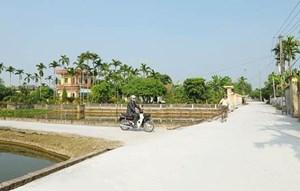 Hải Dương lấy ý kiến về sự hài lòng của người dân đối với kết quả xây dựng nông thôn mới