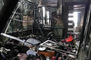 Hải Phòng: Cháy lớn thiêu rụi ba căn nhà, thiệt hại hàng tỷ đồng