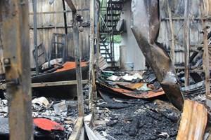 Hai thi thể người được tìm thấy tại hiện trường vụ cháy gần Bệnh viện Nhi