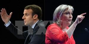 Hai ứng cử viên tổng thống Pháp tranh luận nảy lửa trên truyền hình