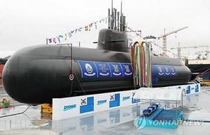 Hàn Quốc hạ thủy tàu ngầm chiến lược tự chế nặng 3.000 tấn