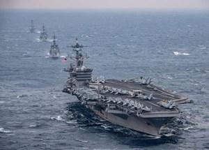 Hàn Quốc xác nhận Mỹ điều tàu sân bay tới Bán đảo Triều Tiên