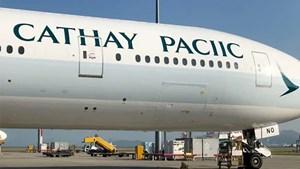 Hãng Cathay Pacific mắc lỗi chính tả