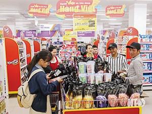 Hàng Việt chiếm đa số tại các siêu thị, chợ và thị trường nông thôn