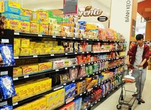 Hàng Việt tìm đường vào siêu thị ngoại
