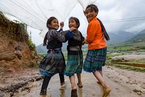 Hạnh phúc và an toàn cho phụ nữ