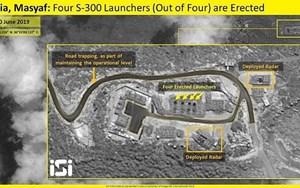 Israel: Các hệ thống S-300 của Syria đã đi vào hoạt động