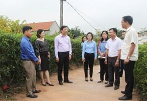 Hiệu quả từ 'dân vận khéo' ở Quảng Yên
