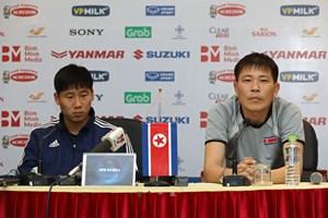 HLV Triều Tiên: 'Ông Park rất giỏi, nhưng chúng tôi không e ngại'