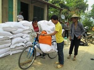 Hỗ trợ Tuyên Quang hơn 350 tấn gạo
