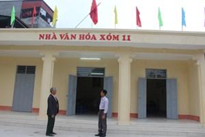Hòa Bình: 70 xã đạt tiêu chí về cơ sở vật chất văn hóa trong NTM
