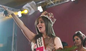 Hoa hậu Iraq bị IS dọa bắt cóc