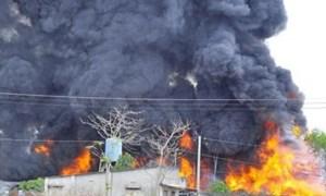 Hỏa hoạn rình rập các điểm thu mua phế liệu